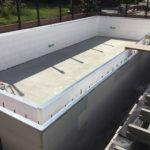Quadlock Pool ready for bracing